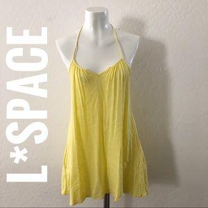 L*Space yellow swim coverup F205